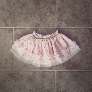 Baby starters pink and gold 9 month tutu